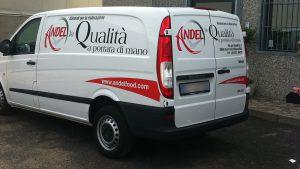 grafica furgoni pubblicità